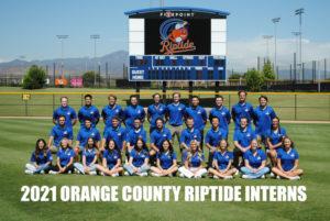 2021 OC Riptide Intern Staff
